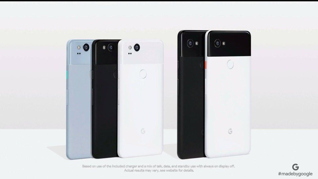 谷歌推出新Pixel智慧手機
