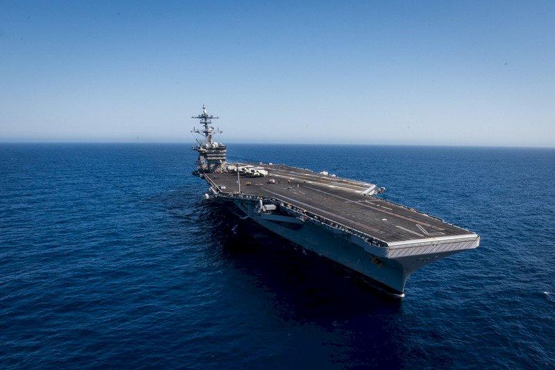 美羅斯福號篩檢防疫情再起 又爆5返艦官兵確診