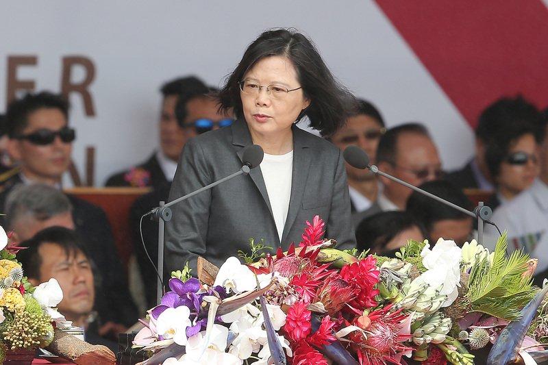 蔡總統籲北京降低軍事緊張 德媒黃金時段報導