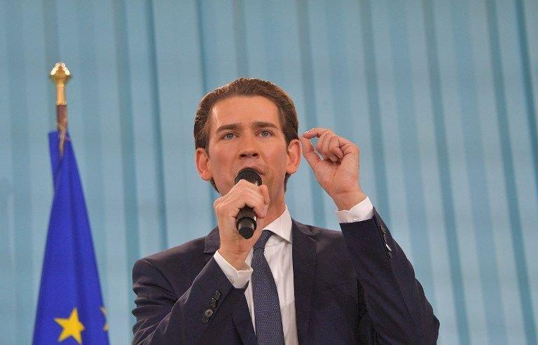奧地利總理表態 拒收更多阿富汗難民