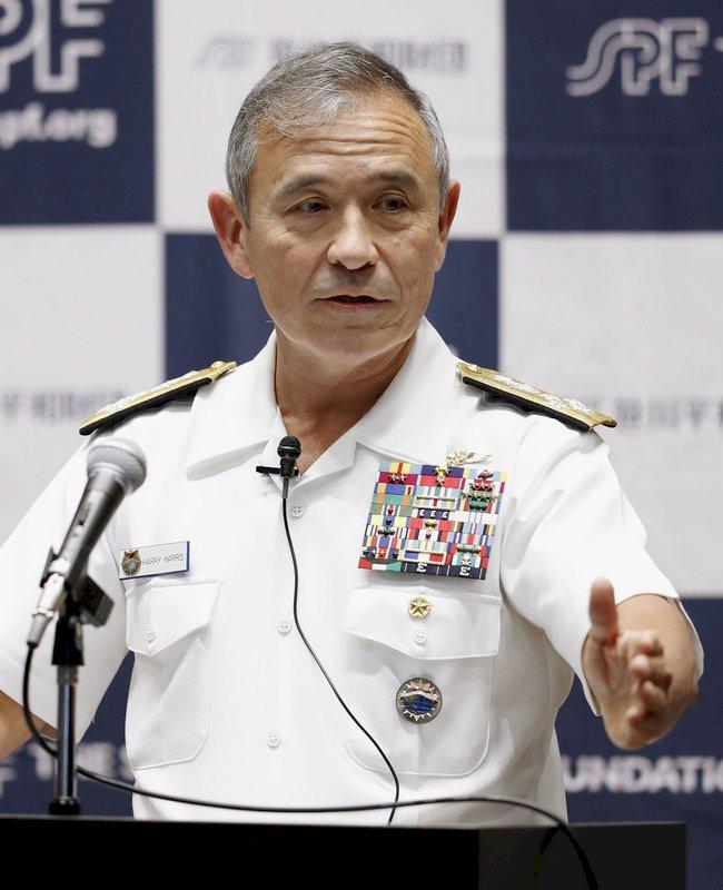 美國會通過 前太平洋司令哈里斯任駐南韓大使