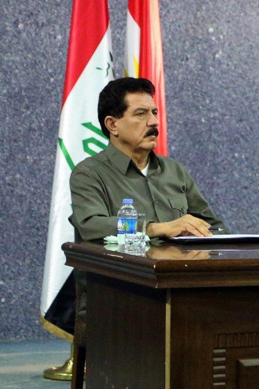 伊拉克下令逮捕庫德族自治區副主席