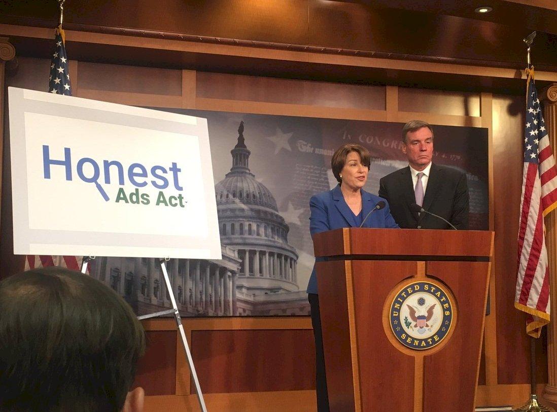 規範網路政治廣告 美參議員提法案