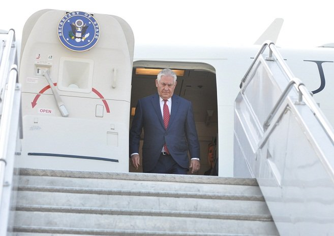美國務卿訪印度 中國影響力料成會談焦點