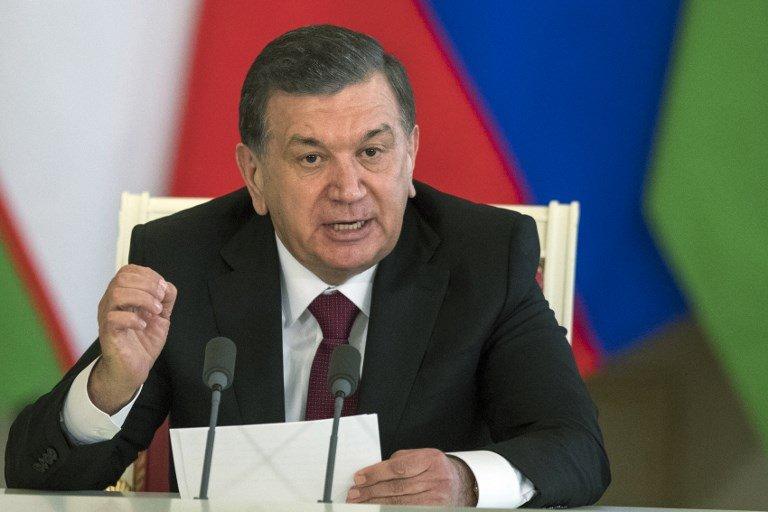 烏兹別克總統:解凍阿富汗海外資產 以促進與塔利班對話