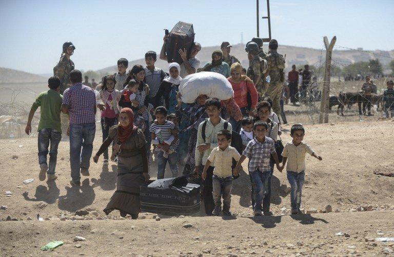 伊庫衝突 逾18萬人流離失所多為庫德人