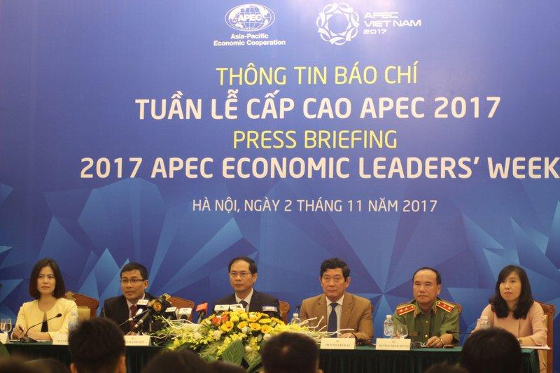主辦2017年APEC 越南準備就緒