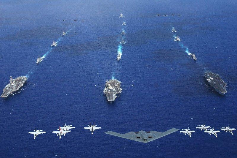 美三航艦聚集 北韓:升高核戰威脅
