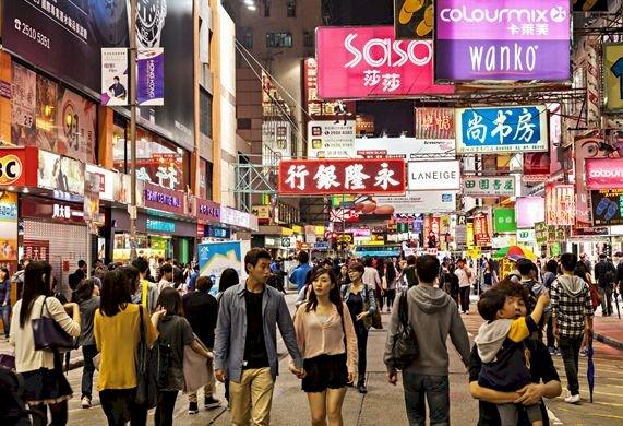 香港第三季店鋪租金大幅下滑 創21年來新低