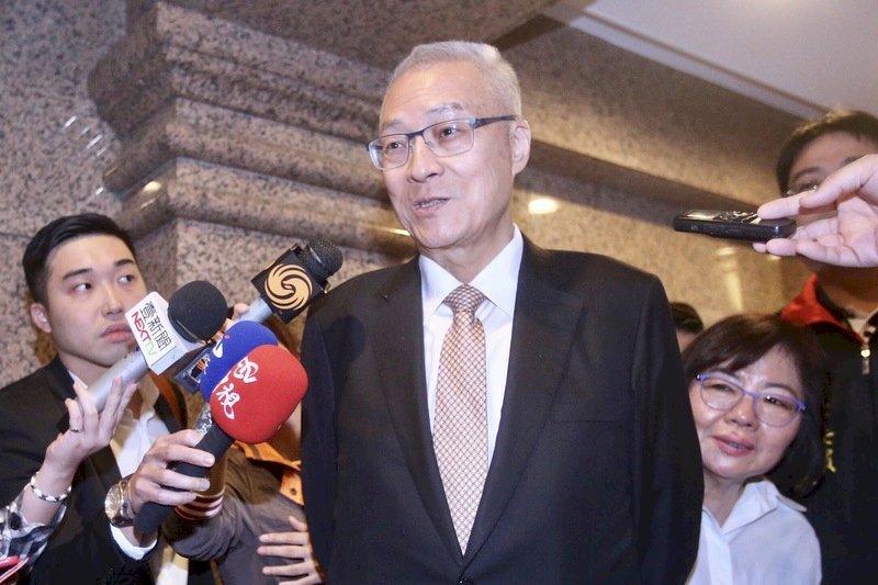 吳敦義拒會蔡總統 府:誠意不變、努力不止