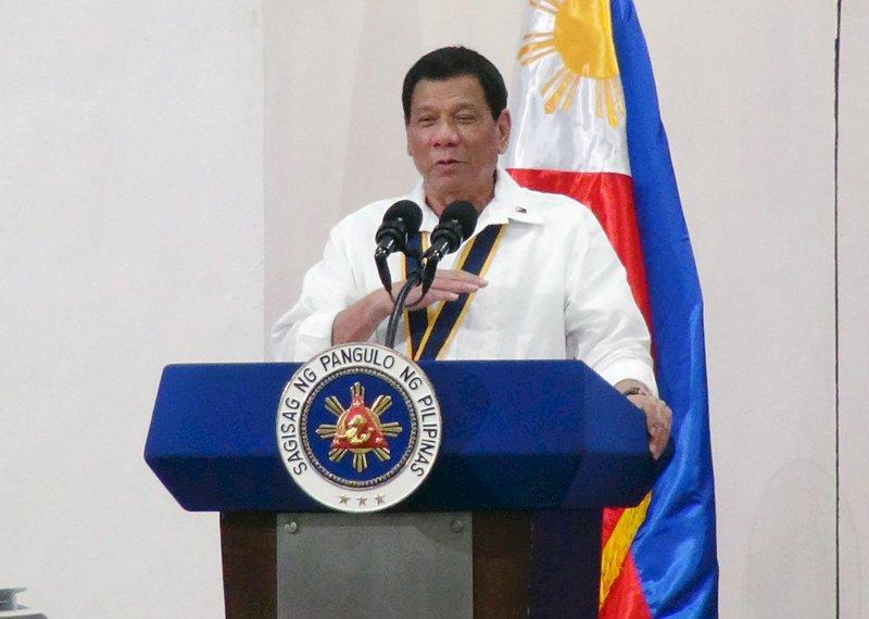 杜特蒂:APEC會上 將對中國提南海問題