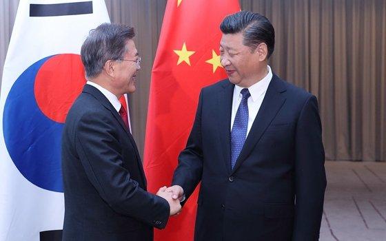 青瓦台:韓中11日將開領袖峰會