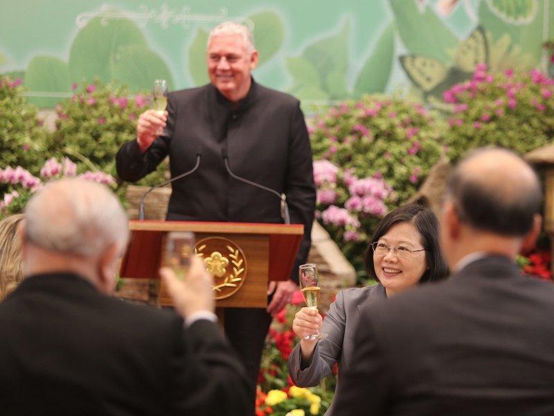聖露西亞總理:台露邦誼穩固 盼蔡總統造訪