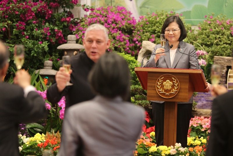 國宴款待聖露西亞總理 總統:不會停止合作