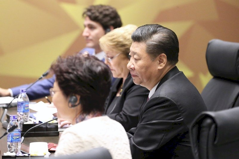 APEC會安倍 習近平提及台灣