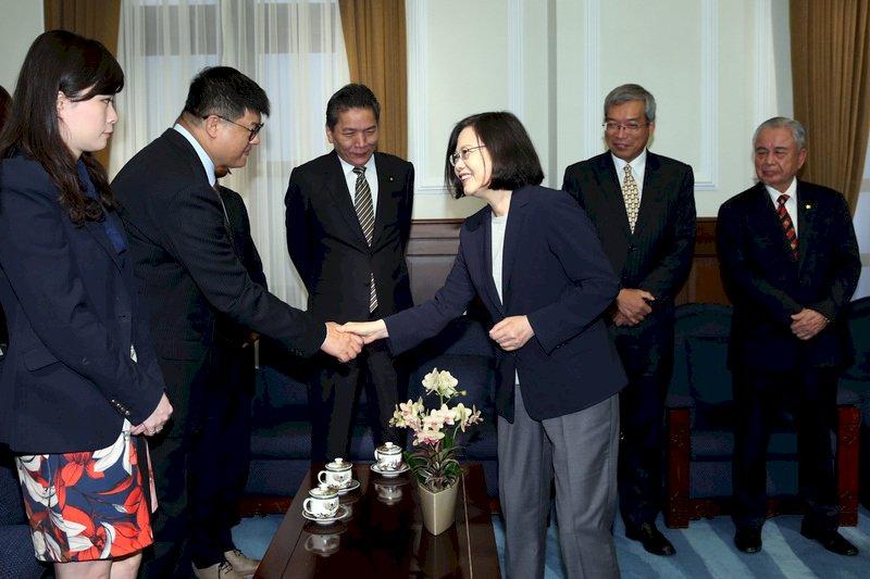 CPTPP成形 總統:政府會全力展現企圖心