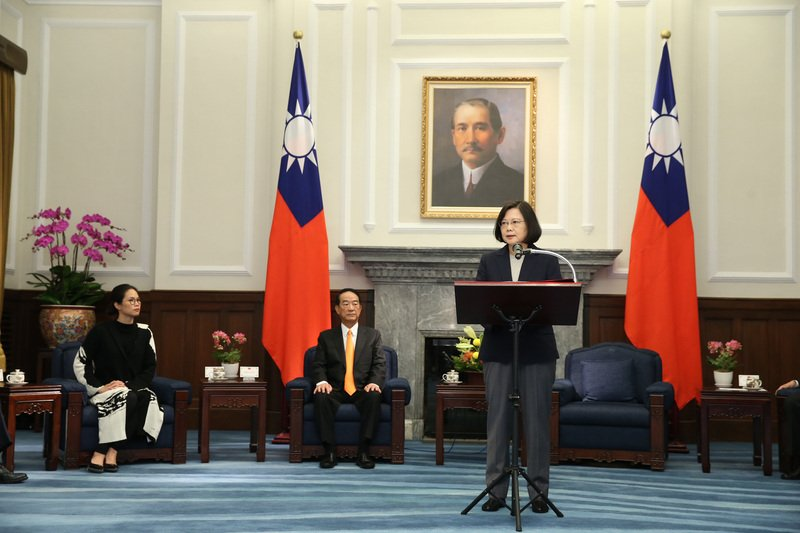 向總統報告APEC成果 宋楚瑜:圓滿完成任務