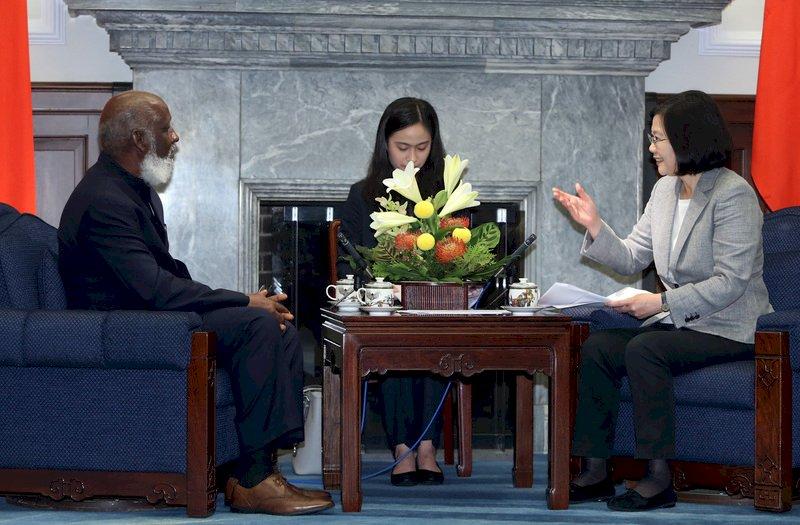 總統:與貝里斯合作 共創觀光旅遊發展