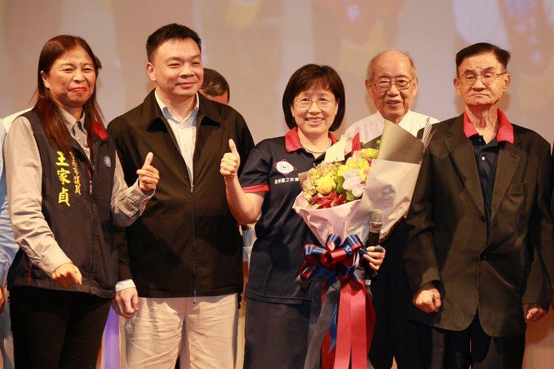 黃秀霜表態爭取代表國民黨選台南市長