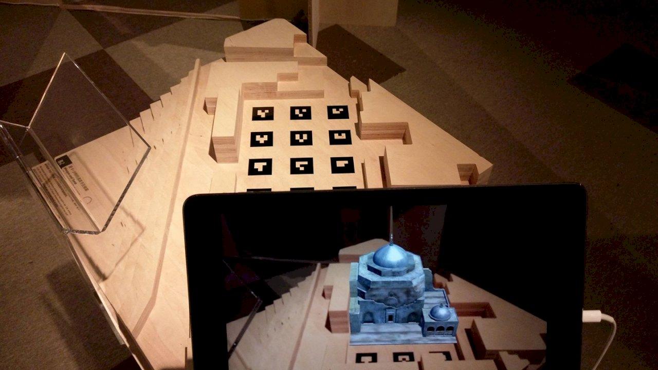 ISIS摧毀摩蘇爾古蹟 國圖AR重現遺跡