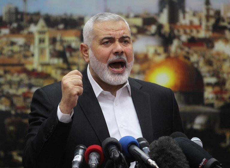 哈瑪斯領袖哈尼雅 美國列恐怖分子