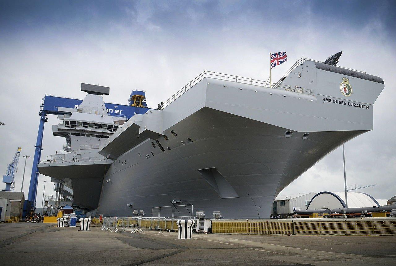 英國航母打擊群5月訪亞洲 與10多國軍演