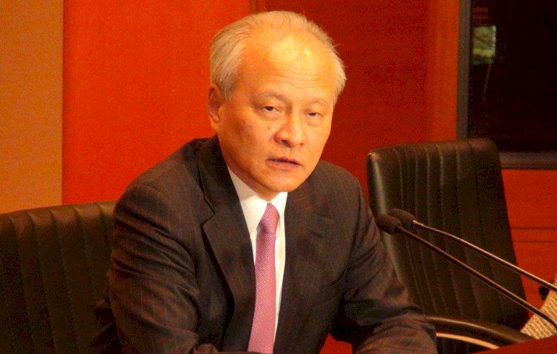 崔天凱:中國目標是構建人類命運共同體