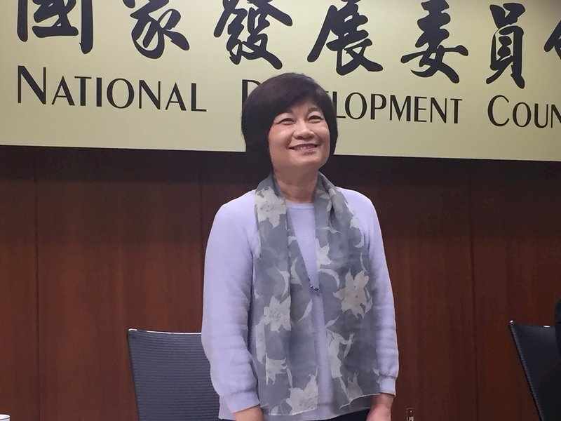 陳美伶:台灣明年正式邁入高齡社會