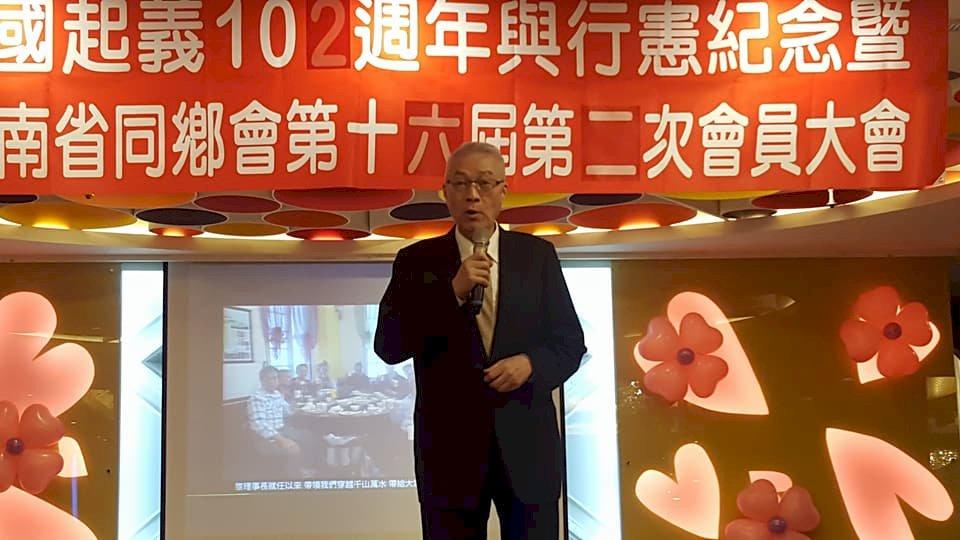 吳敦義:台商、陸生、陸客將是國共論壇重點