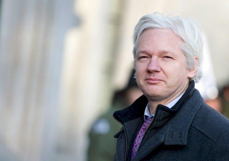 英國警方:美國已要求引渡亞桑傑