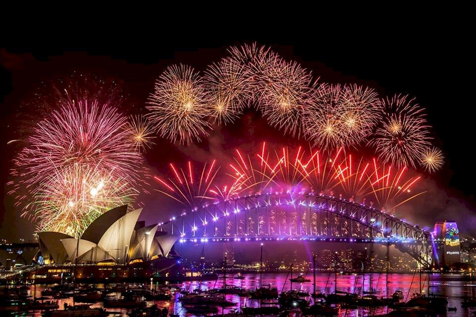 歡迎2019 雪梨煙火秀將照亮天際12分鐘