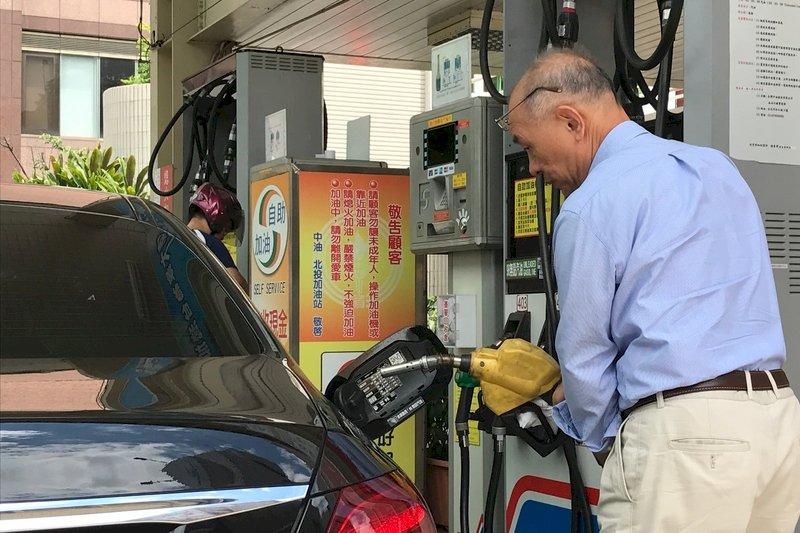 7日起中油汽、柴油價格均不調整