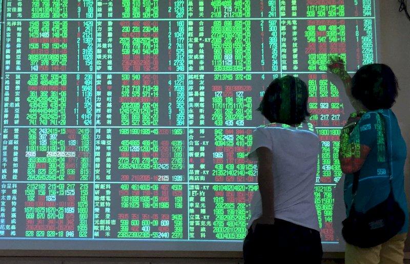 美股反彈漲311點 台股開盤漲28點