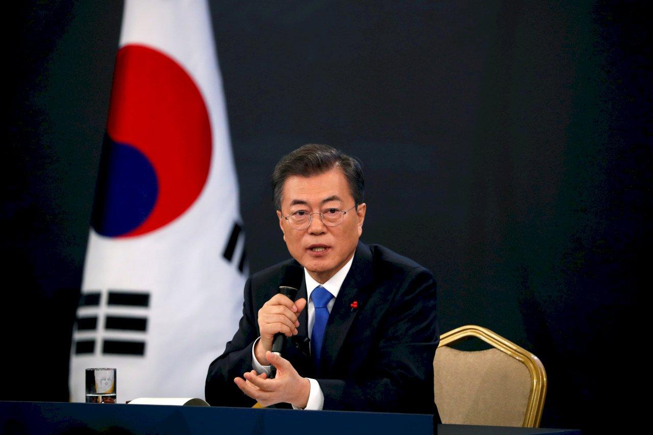 文在寅:暫不考慮單獨放寬對北韓制裁