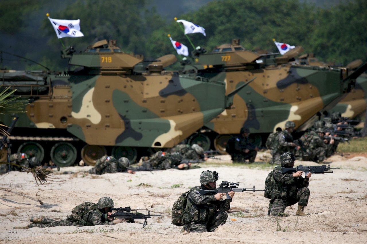 拜登拉攏盟友抗中 美韓敲定軍費分攤