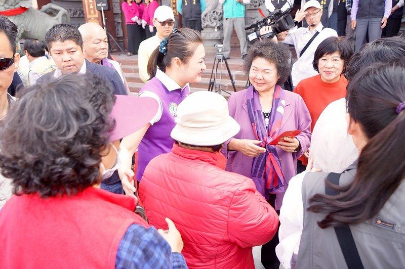 3月赴華府 陳菊:以市長及女性角度演講