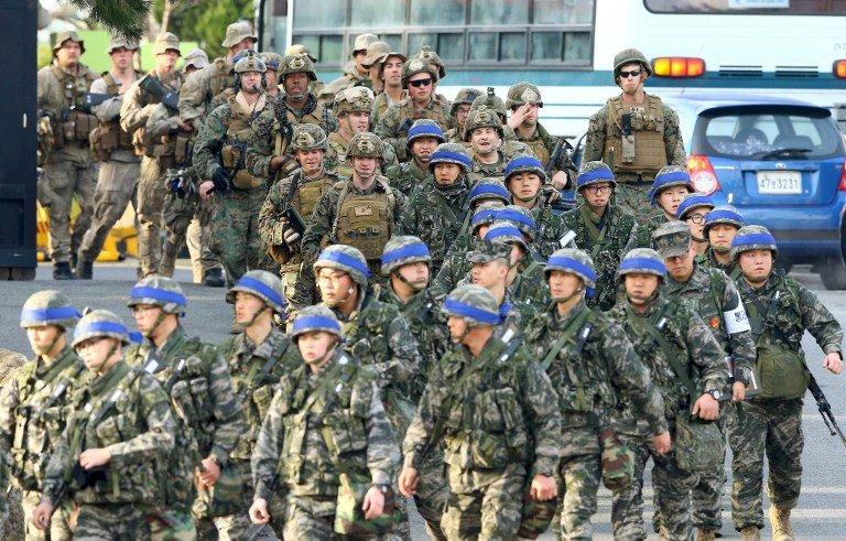 南韓美國聯合軍演8日登場 因疫情規模縮小