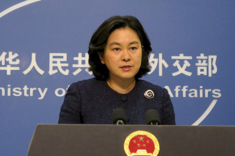 傳被捕 中國外交部發言人華春瑩露面闢謠
