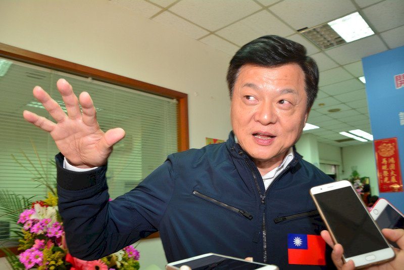 周錫瑋宣布投入總統選舉 籲黨內兩階段初選