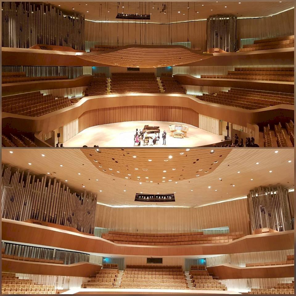 衛武營十月開幕 葡萄園式音樂廳搶先曝光