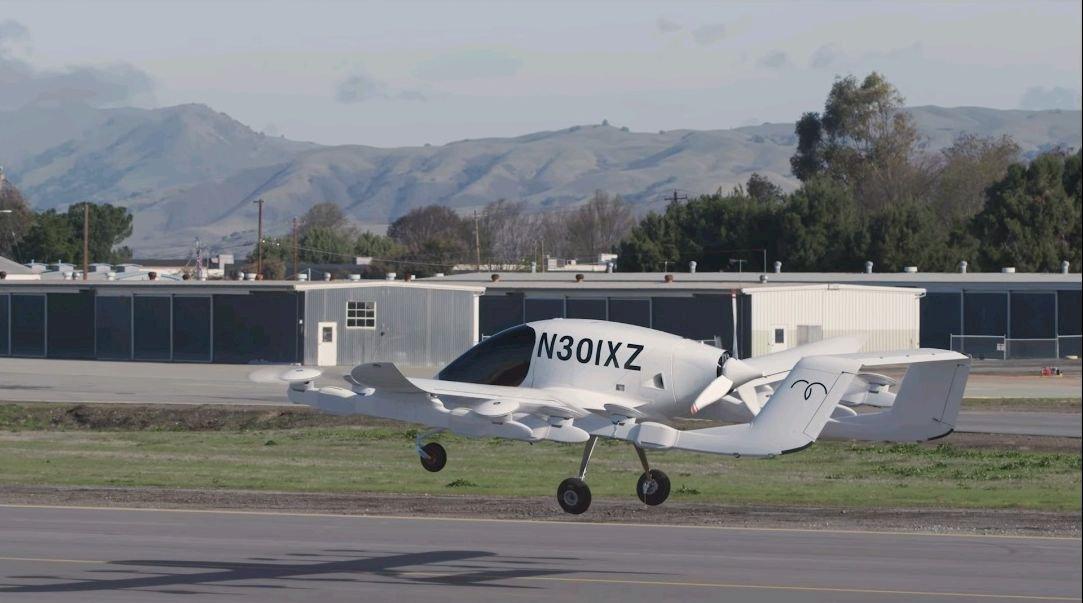 空中計程車試飛 谷歌創辦人幕後推手