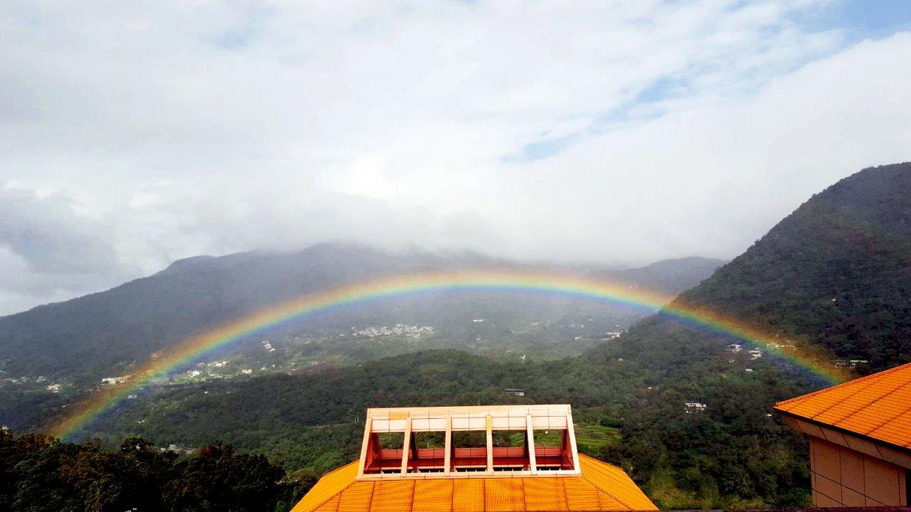 文大觀測時間最長彩虹 金氏世界紀錄認證