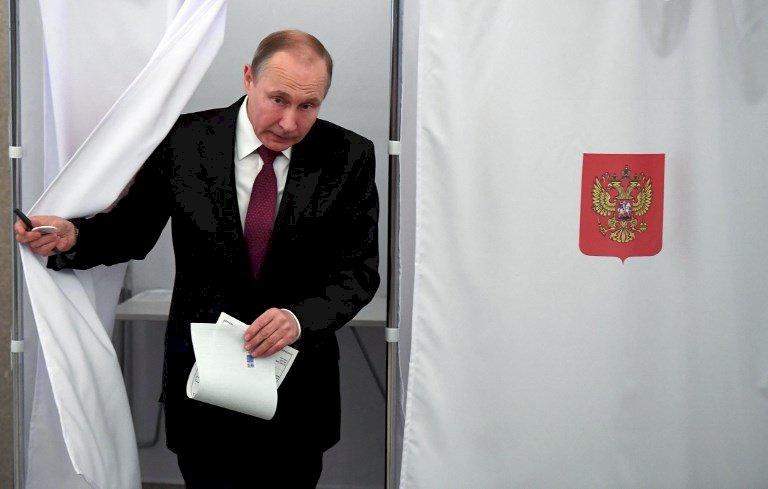 俄大選蒲亭高票獲勝 舞弊爭議蒙陰影