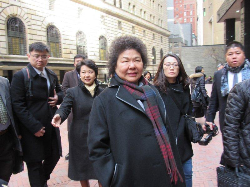 陳菊訪紐約話務中心 盼高雄市民有更棒服務