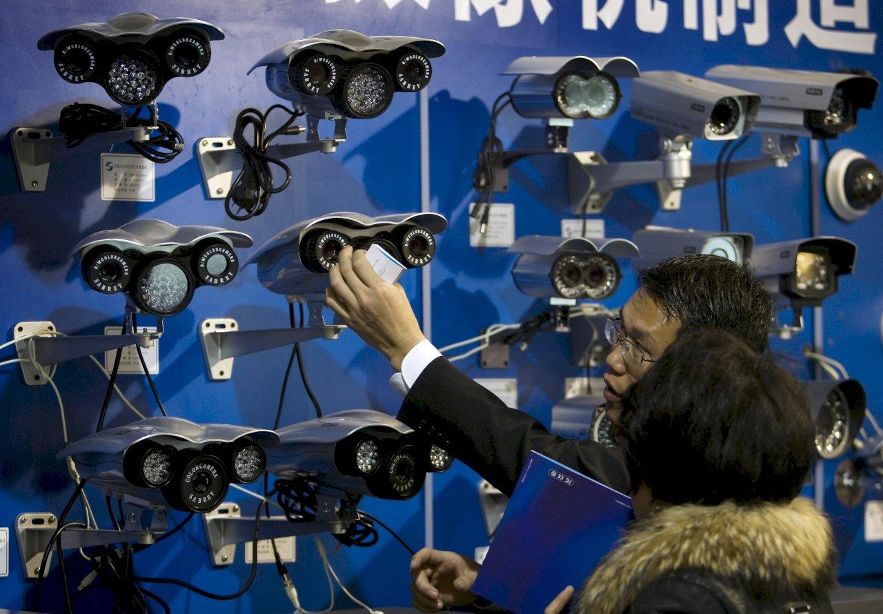 美媒:中國天網監控人民 英特爾等多家科技大廠淪幫凶