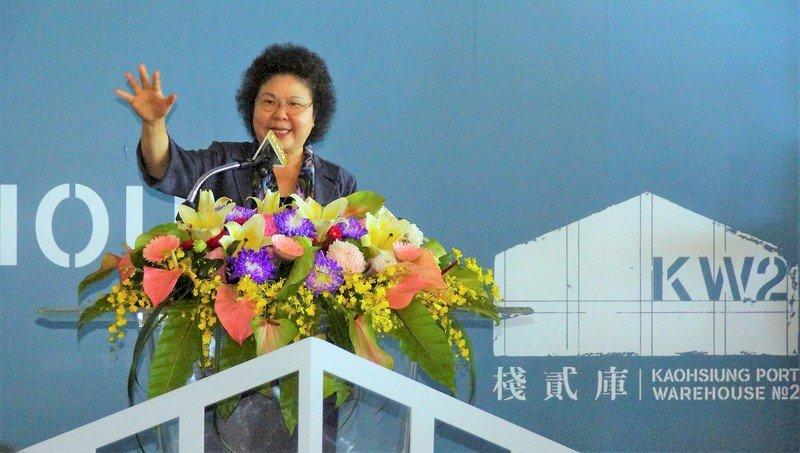 陳菊上午入府 府:邀總統出席世界電競賽
