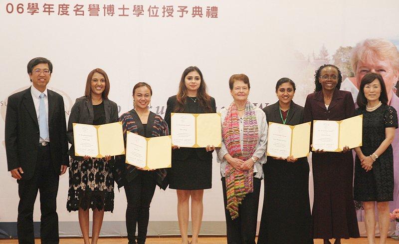 女性永續發展科學週 挪威前總理頒獎