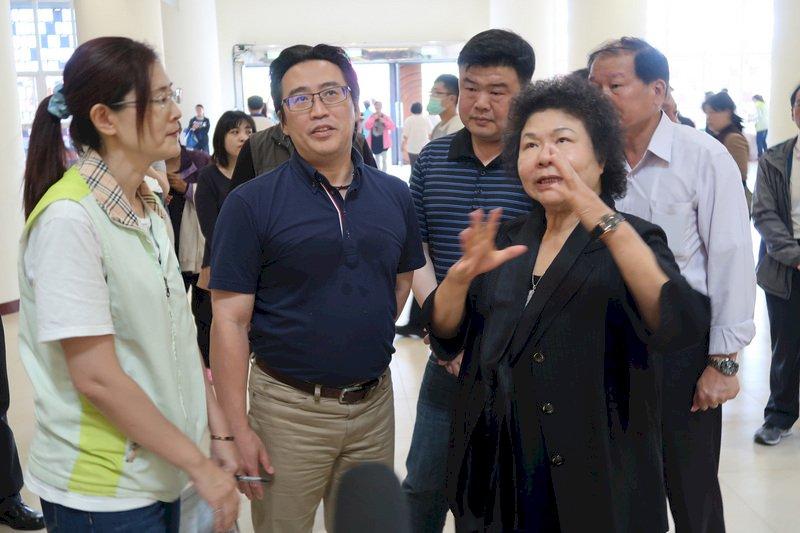 傳許立明代理高雄市長  陳菊未證實