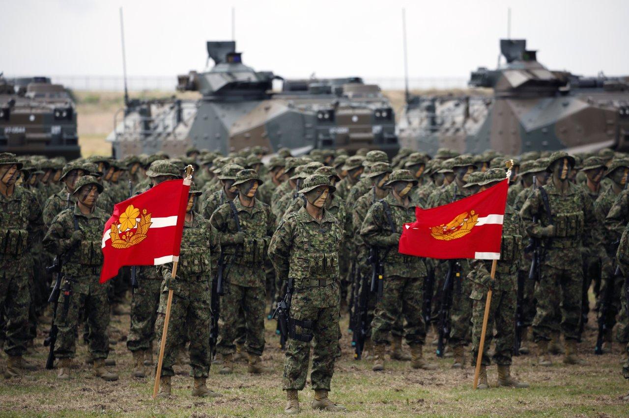 防中國武力犯台 日本陸上自衛隊擬全員演習