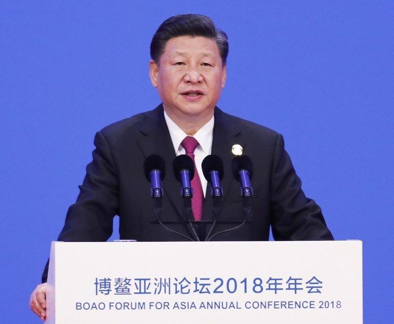 習近平宣示 大降關稅放寬外資准入中國市場
